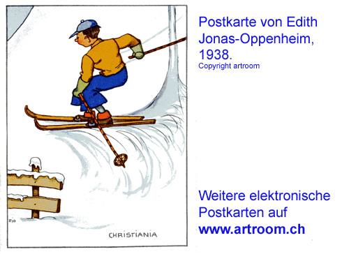 """Christiania"" - Postkarte ca. 1935"
