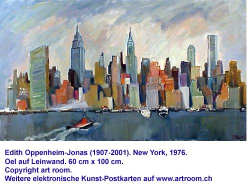 """""""Manhattan"""", Öl auf Leinwand, 1976"""