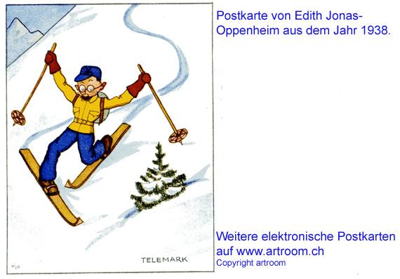 """Telemark"", Postkarte ca. 1935"